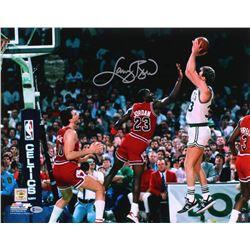 Larry Bird Signed Boston Celtics 16x20 Photo (Beckett Hologram)