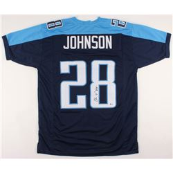 Chris Johnson Signed Jersey (Beckett COA)