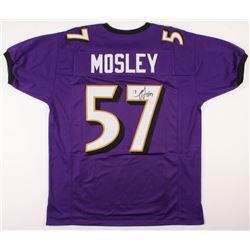 C.J. Mosley Signed Jersey (JSA COA)