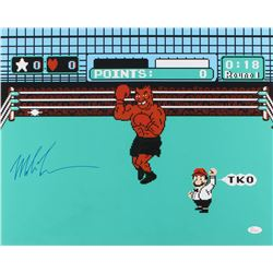 """Mike Tyson Signed """"Punch-Out!!"""" 16x20 Photo (JSA COA)"""