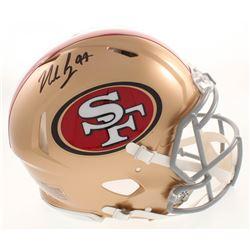 Nick Bosa Signed San Francisco 49ers Full-Size Authentic On-Field Speed Helmet (Beckett COA)