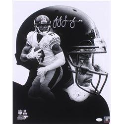 JuJu Smith-Schuster Signed Pittsburgh Steelers 16x20 Photo (JSA COA)
