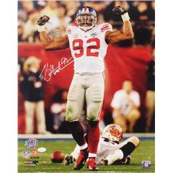Michael Strahan Signed New York Giants 16x20 Photo (JSA COA)