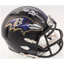 Deion Sanders Signed Baltimore Ravens Speed Mini Helmet (Beckett COA)