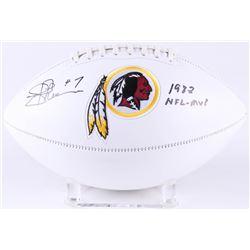"Joe Theismann Signed Washington Redskins Logo Football Inscribed ""1983 NFL-MVP"" (JSA COA)"