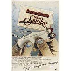 """Cheech Marin  Tommy Chong Signed """"Up In Smoke"""" 12x18 Photo (JSA COA)"""