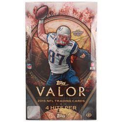 2015 Topps Valor Football Unopened Hobby Box of (36) Packs