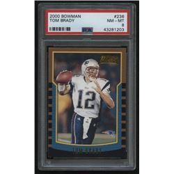 2000 Bowman #236 Tom Brady RC (PSA 8)