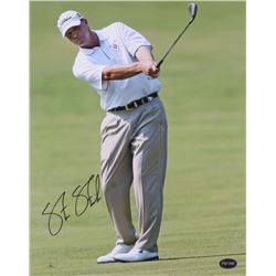 Steve Stricker Signed 11x14 Photo (PSA COA)