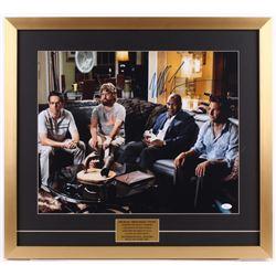 "Mike Tyson Signed ""The Hangover"" 23x25.5 Custom Framed Photo Display (JSA COA)"