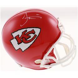 Tyreek Hill Signed Kansas City Chiefs Full-Size Helmet (JSA COA)