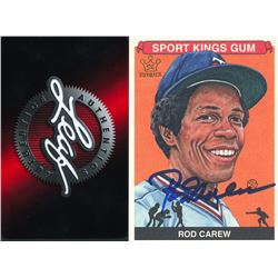 Rod Carew Signed 2015 Sportkings #216