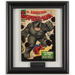"""1966 """"The Amazing Spider-man"""" #41 12.25x14.25 Framed Marvel Comic Book Display"""