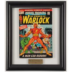 """1972 """"Marvel Premiere"""" #1 12.25x14.25 Framed Marvel Comic Book Display"""