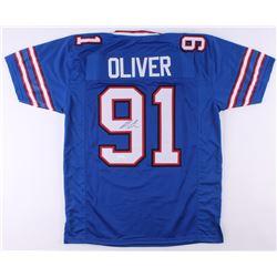 Ed Oliver Signed Jersey (JSA COA)