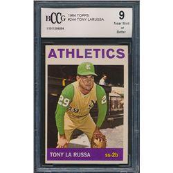 1964 Topps #244 Tony LaRussa RC (BCCG 9)