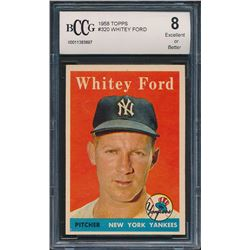 1958 Topps #320 Whitey Ford (BCCG 8)