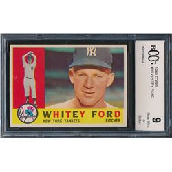 1960 Topps #35 Whitey Ford (BCCG 9)