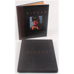 """Cal Ripken Jr. Signed LE """"Ripken: Cal on Cal"""" Hardcover Book (PSA COA)"""