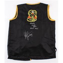 "William Zabka  Martin ""Sensei"" Kove Signed ""Karate Kid"" Cobra Kai Karate Uniform Top Inscribed ""No M"