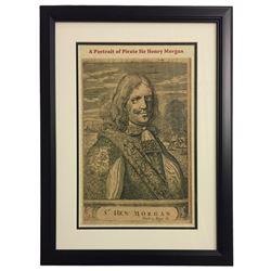 Captain Sir Henry Morgan 16x20 Custom Framed Print Display