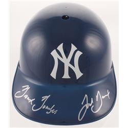 "Josh Breaux Signed New York Yankees Full-Size Batting Helmet Inscribed ""Bronx Bombers"" (Beckett COA)"