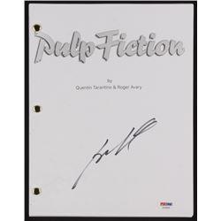 "John Travolta Signed ""Pulp Fiction"" Movie Script (PSA COA)"