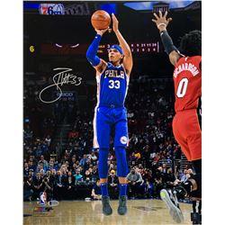 Tobias Harris Signed Philadelphia 76ers 16x20 Photo (Beckett COA)