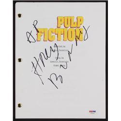 "Amanda Plummer Signed ""Pulp Fiction"" Movie Script Inscribed ""Honey Bunny"" (PSA COA)"