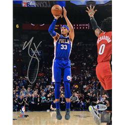 Tobias Harris Signed Philadelphia 76ers 8x10 Photo (Beckett COA)