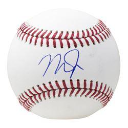 Mike Trout Signed OML Baseball (MLB Hologram)