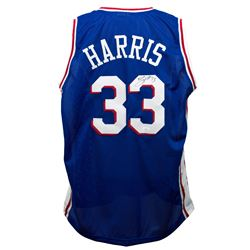 Tobias Harris Signed Jersey (JSA COA)