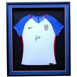 Alex Morgan Signed Team USA 32x36 Custom Framed Nike Jersey Display (JSA COA)