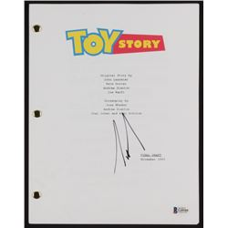 "Tim Allen Signed ""Toy Story"" Movie Script (Beckett COA)"