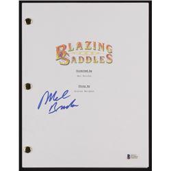 "Mel Brooks Signed ""Blazing Saddles"" Movie Script (Beckett COA)"