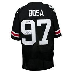 Nick Bosa  Joey Bosa Signed Jersey (JSA COA)