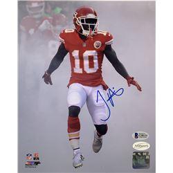 Tyreek Hill Signed Kansas City Chiefs 8x10 Photo (Beckett COA  TSE Hologram)