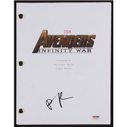 "Pom Klementieff Signed ""Avengers: Infinity War"" Movie Script (PSA COA)"