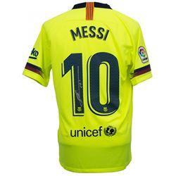 "Lionel Messi Signed Barcelona Nike Jersey Inscribed ""Leo"" (Beckett COA  Messi COA)"