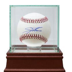 Jim Thome Signed OML Baseball with Display Case (JSA COA)