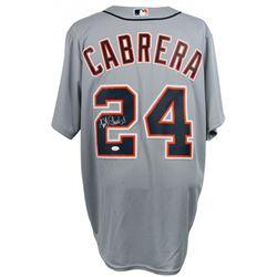 Miguel Cabrera Signed Detroit Tigers Majestic Jersey (JSA COA)