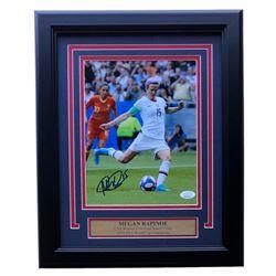 Megan Rapinoe Signed 11x14 Custom Framed Photo Display (JSA COA)