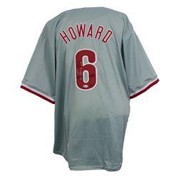 "Ryan Howard Signed Jersey Inscribed ""06 MVP"" (Beckett COA)"