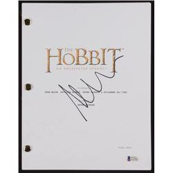 "Martin Freeman Signed ""The Hobbit: An Unexpected Journey"" Movie Script (Beckett COA)"