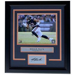 Khalil Mack Chicago Bears 11x14 Custom Framed Photo Display