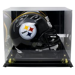 """Alejandro Villanueva Signed Pittsburgh Steelers Full-Size Helmet Inscribed """"United We Stand!"""" with D"""