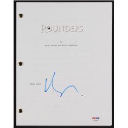 "Matt Damon Signed ""Rounders"" Movie Script (PSA COA)"