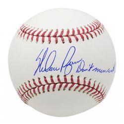 "Nolan Ryan Signed OML Baseball Inscribed ""Don't Mess With Texas"" (JSA COA, Ryan Hologram  AIV Hologr"