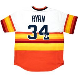 Nolan Ryan Signed Houston Astros Majestic Jersey (JSA COA, Ryan Hologram  AIV Hologram)