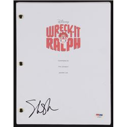 "Sarah Silverman Signed ""Wreck-It Ralph"" Movie Script (PSA COA)"